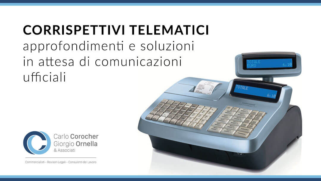 Corrispettivi telematici commercialista Treviso